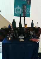 Potions Table by GenineMalfoy