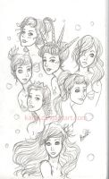 The seven daughters by karuf
