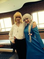 Howl and Sophie Cosplay 1 by YamaBerryCZ