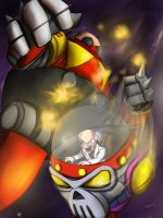 Death Battle: Eggman vs Wily by DotWork-Studio