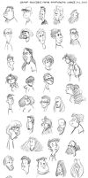 Faces: WonderCon 2007 by cooner