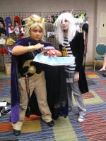 Mizucon 2011 Marik  and Bakura by IrashiRyuu
