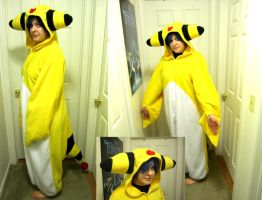 Ampharos Cosplay by Chochomaru