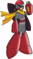 Protoman by Draquo by draquo