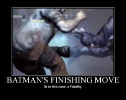 Motivation - Batman's Finishing Move by Songue