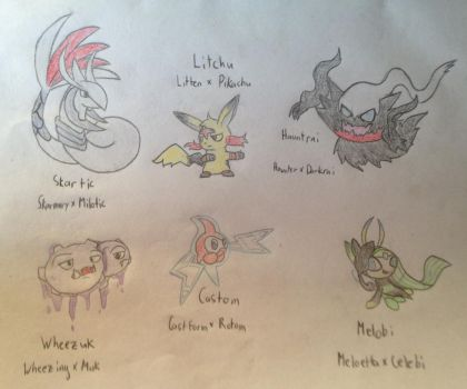 Pokemon Fusions 3 (Request Edition) by PoppyWolfMoon