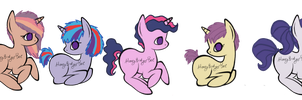 Twilight Sparkle Ships by HoneyBadgerBeeAdopts