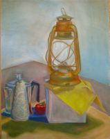 Still Life With Lantern by SpaceFood