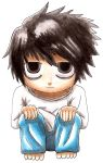 Death Note Chibi L ! by Gallade007
