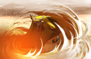 Dance Of the Dust by BeetleInABottle