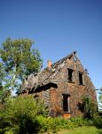Val-Jalbert village, abandoned house about 1915 by RichardRobert