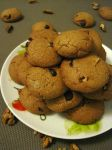 Chocolate Chip and Walnut Cookies by flameshaft