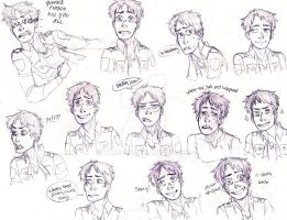 Expression Study -Eren- by Aymeysa