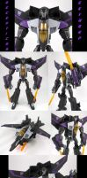 Animated Skywarp Custom by Jin-Saotome