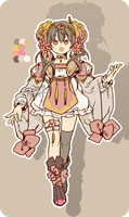 Auction / Floral Bunny [ CLOSED ] by Acusta