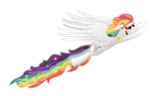 Flaring Rainbows by Klonoa-Rainbow-Dash