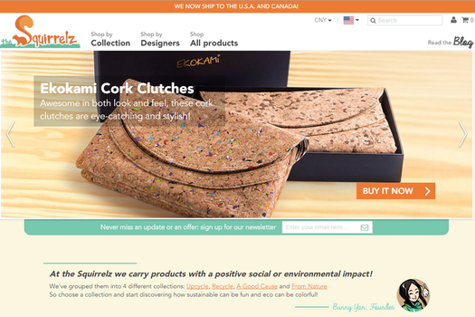 Product Feature: Ekokami Portuguese Cork Clutch by SquirrelzUpcycling