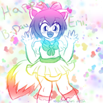 Happy Birthday Emi! by AD-SD-ChibiGirl