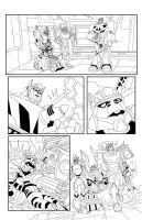 TF Animated Botcon page 5 inks by MarceloMatere