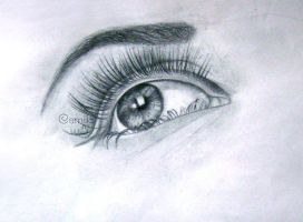 Eye Drawing by millybear