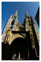 Cathedrale Panorama by Tom-Mosack