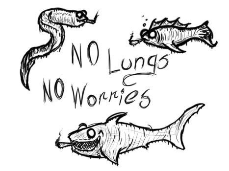 No Lungs No Worries by Altantean