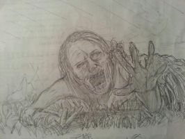 The Walking Dead: Crawler Zombie by Drawception