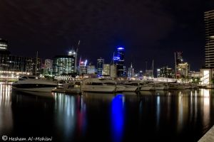 Melbourne City At Night 2... by Al-Msafer