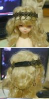 2 headdresses for BJD by ASingleGiraffe
