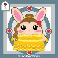 Bunny Series: Belle Bunny by anairys