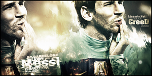 GFX Lionel Messi by AcCreed