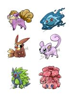 (CLOSE) Pokemon Fusion Set1 (CLOSE) by DarkDragonDen