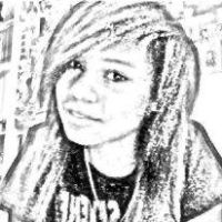 Scetched, taken with Webcam Toy by snowXD