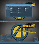 Borderlands Theme For Windows 8.1 by cu88