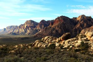 Stock: Spring Mountain Range by Celem