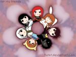 Voodoo Doll in a circle 2 by flutist