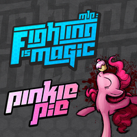 Fighting is Magic Soundtrack Album Art - Pinkie by smokeybacon