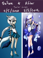 Sailor Lugia ~ 2010 - 2012 by BassoonistfromHell