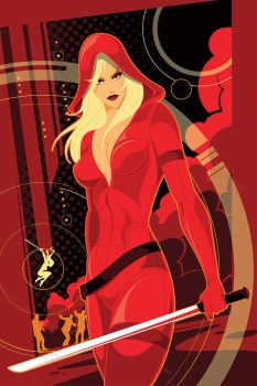 Red Agent by MikeMahle