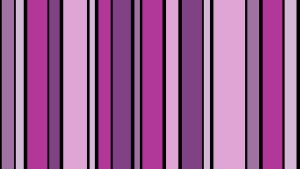Violet Stripes I by HappyPenguinArt