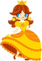 Princess Daisy by Sprits