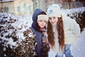 My kids) winter 2015 by mechtaniya