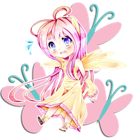 Chibi Fluttershy!! by The0ne-u-lost