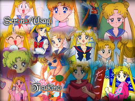 REQUEST: Serena-Usagi Tsukino by Lady1Venus