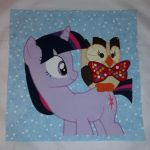 EFNW 2015 Quilt Square - Owl's Well That Ends Well by makeshiftwings30