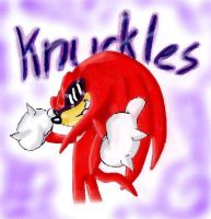 Knuckles is cool by BlackBy