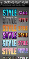 photoshop styles psd by yuval10203