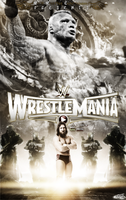 WWE Wrestlemania 31 Poster by JoKeRWord