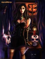 Pumpkin Carving is for Sissies by ArtOfRivana