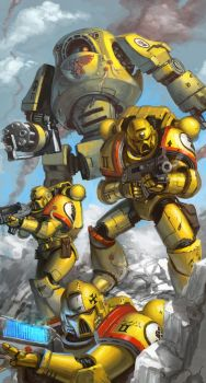 WH40K: Emperor's Finest by jeffszhang